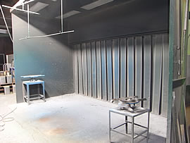 焼付塗装用設備・粉体塗装用設備